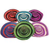 Fiesta Hats & Headwear Bright Stripe Sombrero Image