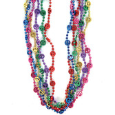 60s & 70s Party Wear Peace Sign Beaded Necklaces Image