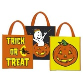 Halloween Gift Bags & Paper Halloween Treat Bag Image