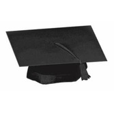 Graduation Hats & Headwear Black Graduate Cap Image