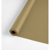 Anniversary Table Accessories 100' Table Roll Metallic Gold Image