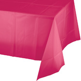 Valentine's Day Table Accessories Rectangular Table Cover Hot Pink Image