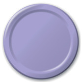 Easter Table Accessories Lavender Dinner Plates Image
