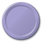 Baby Shower Table Accessories Lavender Dessert Plates Image