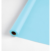 Baby Shower Table Accessories 100' Table Roll Light Blue Image