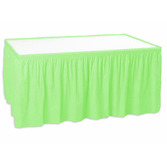 Mother's Day Table Accessories Light Green Table Skirt Image