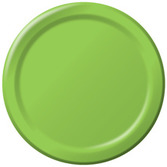 Baby Shower Table Accessories Light Green Dinner Plates Image