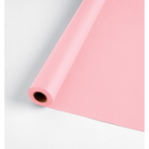 Baby Shower Table Accessories 100' Table Roll Pink Image
