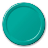 Table Accessories Teal Dessert Plates Image