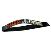 "Halloween Party Wear ""Scariest Costume"" Satin Sash Image"