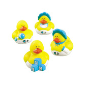 Baby Shower Favors & Prizes Boy Baby Shower Rubber Duckies Image