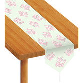 "Baby Shower Table Accessories ""It's A Girl"" Table Runner Image"