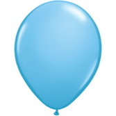 Baby Shower Balloons Pale Blue Balloons Image