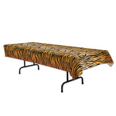 Jungle & Safari Table Accessories Tiger Print Table Cover Image