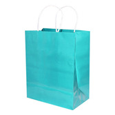 Gift Bags & Paper Medium Gift Bag Turquoise Image