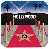 Awards Night & Hollywood Table Accessories Reel Hollywood Dinner Plates Image