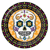 Day of the Dead Table Accessories Day of the Dead Plates Image