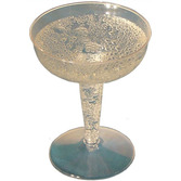 New Years Table Accessories Champagne Glasses Image