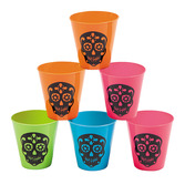 Day of the Dead Table Accessories Day of the Dead Shot Glasses Image
