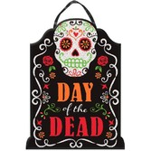 Day of the Dead Decorations Day of the Dead Tombstone Sign Image