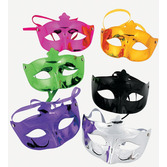 Mardi Gras Party Wear Mardi Gras Metallic Masks Image