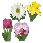 Mother's Day Decorations Classic Flower Cutouts Image