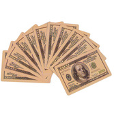 Casino Favors & Prizes $100 Bill Playing Cards Image