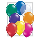 """Balloons 16"""" Assorted Color Jewel Tone Balloons Image"""