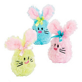 Easter Favors & Prizes Plush Bean Bag Bunny Image