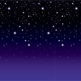 New Years Decorations Starry Night Backdrop Image