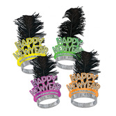 New Years Hats & Headwear Neon Swing Tiara Image