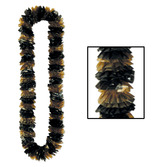 New Years Favors & Prizes Black and Gold Two-Tone Lei Image