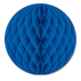 "Decorations 12"" Blue Tissue Ball Image"