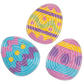 Easter Favors & Prizes Easter Egg Maze Puzzles Image