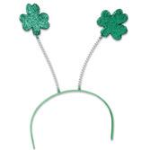 St. Patrick's Day Hats & Headwear Shamrock Head Boppers Image
