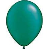 """St. Patrick's Day Balloons 11"""" Pearl Emerald Green Balloons Image"""