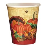Thanksgiving Table Accessories Country Harvest Cups Image