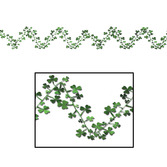 St. Patrick's Day Decorations Shamrock Wire Garland Image