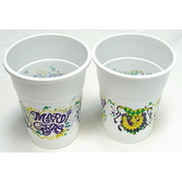 Mardi Gras Table Accessories Mardi Gras Plastic Cups Image