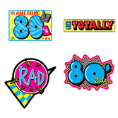 Decorations Awesome 80s Cutouts Image