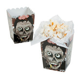 Halloween Table Accessories Mini Zombie Popcorn Bags  Image