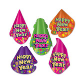 New Years Hats & Headwear Color Brite Hat Assortment Image