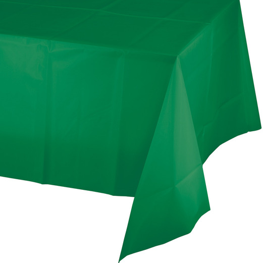 St. Patrick's Day Table Accessories Rectangular Table Cover Green Image