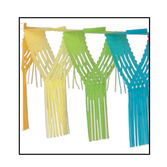 Birthday Party Decorations Multicolor Drop Fringe Garland Image