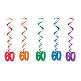 Birthday Party Decorations 60 Whirls Image