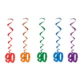 Birthday Party Decorations 90 Whirls Image