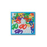 "Birthday Party Decorations ""40"" Confetti Multicolor Image"