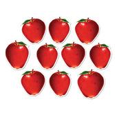 Back to School Decorations Mini Apple Cutouts Image