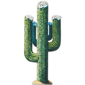 Western Decorations Cactus Cutout Image