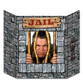 Western Decorations Jail Photo Prop Image